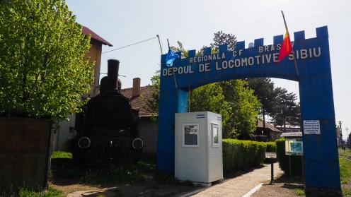 Depoul Sibiu, locul unde sunt ultimele locomotive cu abur salvate de la tăiere. FOTO Cătălin SCHIPOR