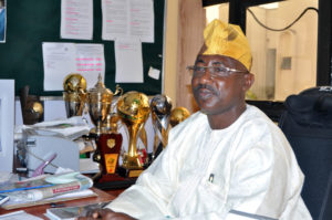 Dr Mohammed Sanusi, Secretary General of the NFF...laments Falcons' loss