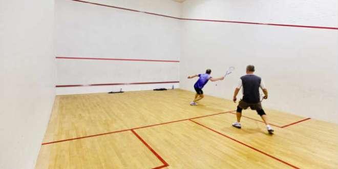 Female players slugging it out on the Squash Racket court...Oyerinde promises new hope