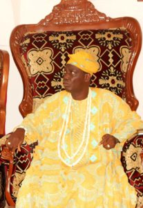 Oba Charles Ibitoye the Olomu of Omu-Aran...will be special guest of honour