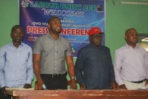 TUC SEC, Mr Mayowa Falagbe.NLC Chairman, Comrade Bayo Titilola-Sodo NLC Chairman, Comrade Bayo Titilola-Sodo With Some Congre