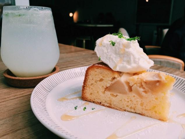 蜂蜜蘋果溫蛋糕