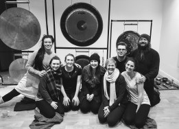 Kellogs team Building Gong Spa with Rebecca Wilson