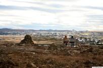Rauðavatn, horft yfir Reykjavík