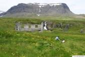 Í Loðmundarfirði, húsatóttir við Klyppsstaði