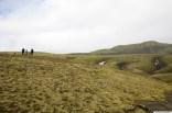 Skælingar, horft upp að Gjátindi