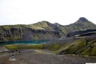 Skælingar, lónið við Uxatinda, stórkostlegur staður