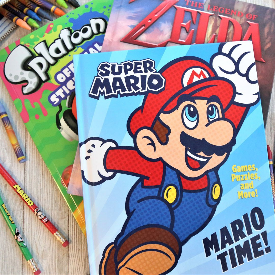 Random House Releases A Series Of Nintendo Themed Activity