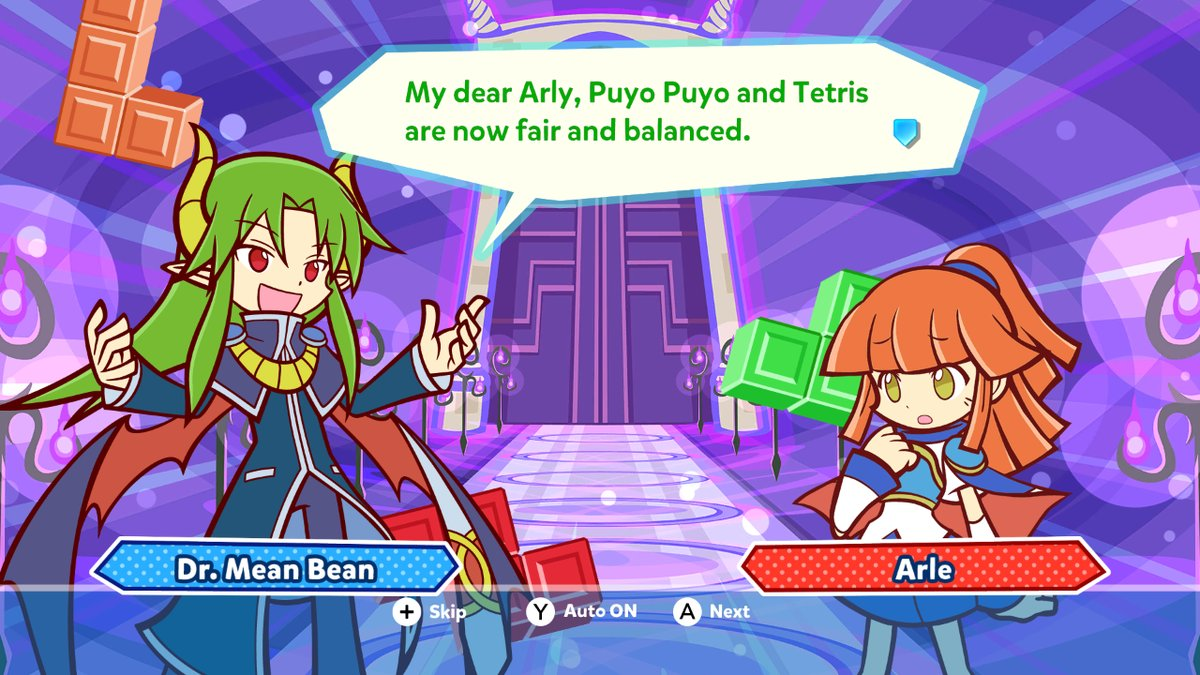 Puyo Puyo Tetris Version 1 1 0 Is Now Available Gonintendo