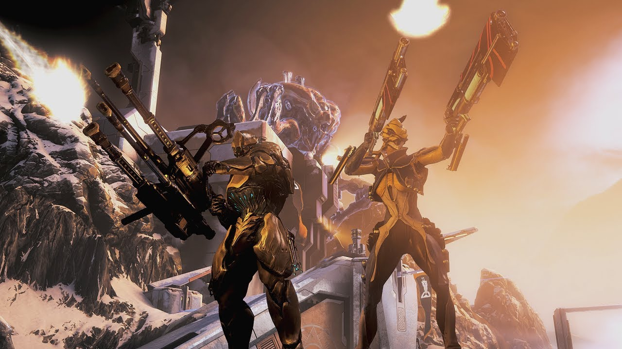 Fortuna The Profit Taker For Warframe Hitting Switch