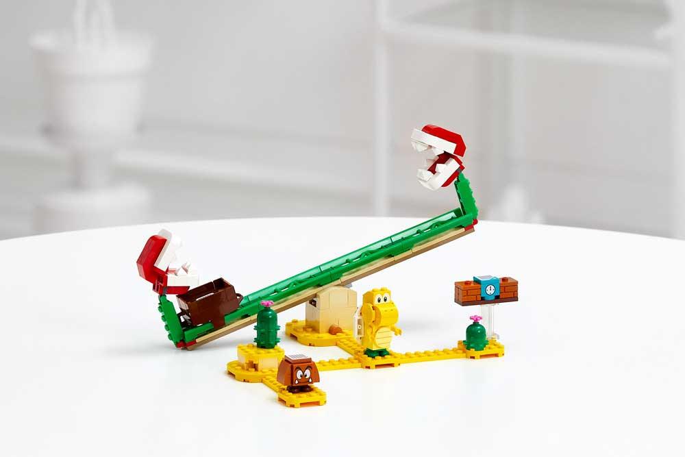 La date et les prix des premiers pack dévoilés — LEGO Super Mario
