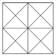 How many triangles are there in the figure