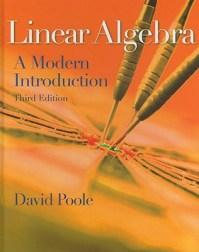 Linear Algebra A Modern Introduction