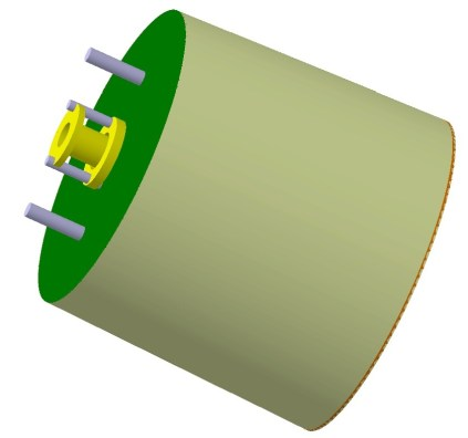 Fig. (iii) : The complete MPDT module with proper shielding.
