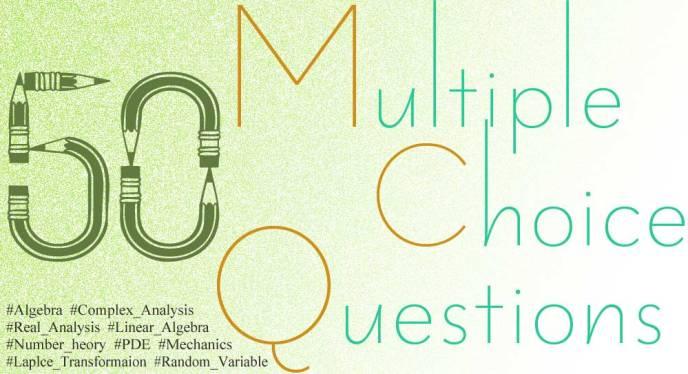 50 Multiple Choice Question