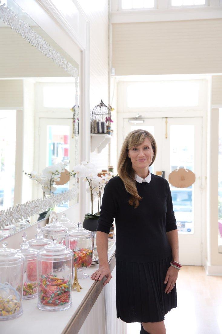 Larriviere in her shop (photo: Jillian Marie Photography)
