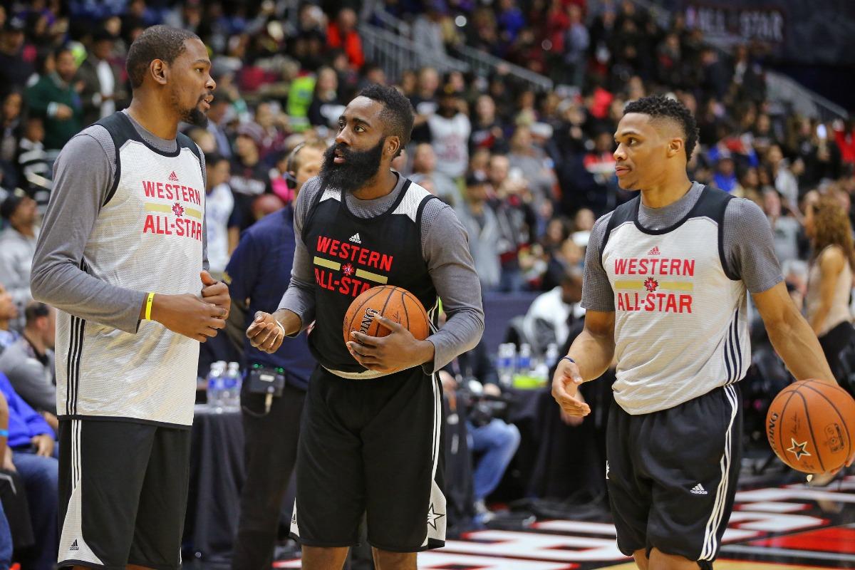 NBA All-Star Practice 2