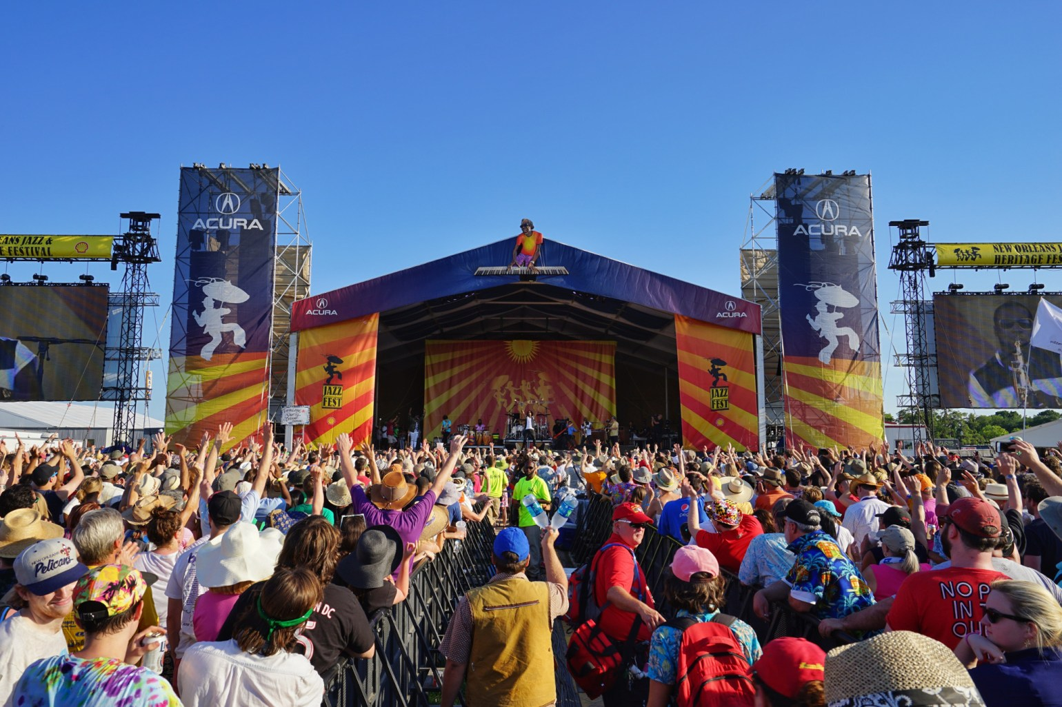 The one, the only: Jazz Fest. (Photo via New Orleans Tourism & Marketing)