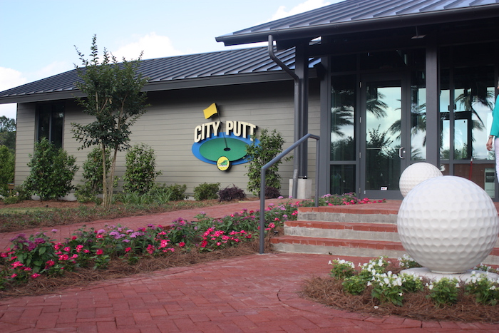 city putt in New Orleans City Park