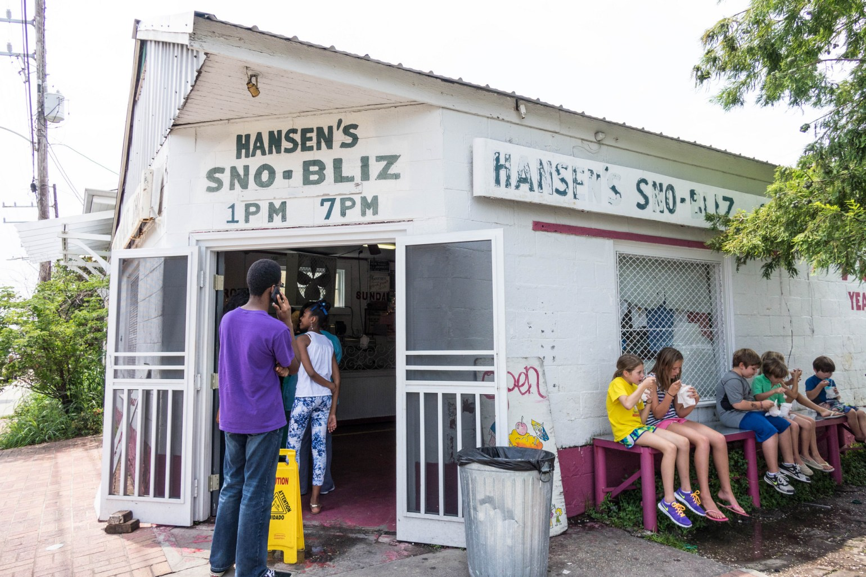 Hansen's Sno-Bliz. (Photo: Paul Broussard)