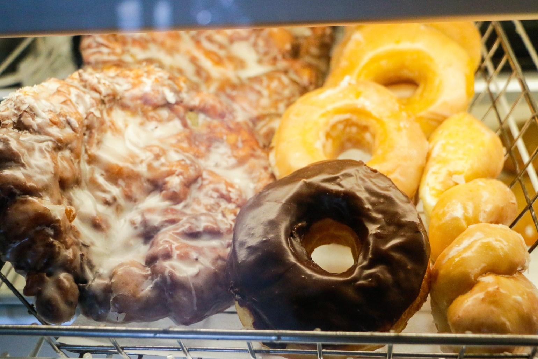 Donuts at Maple Street Patisserie. (Photo: Rebecca Ratliff)