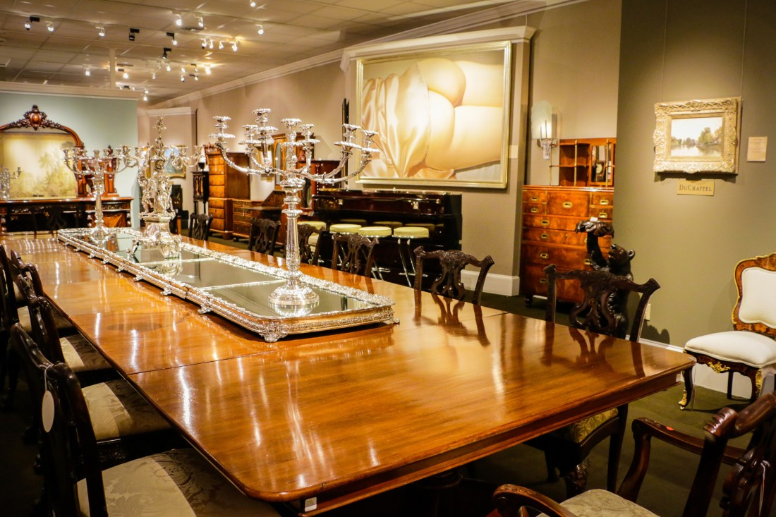 Just a few of the marvelous antiques at M.S. Rau. (Photo: Rebecca Ratliff)