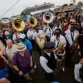 social aid and pleasure club parade