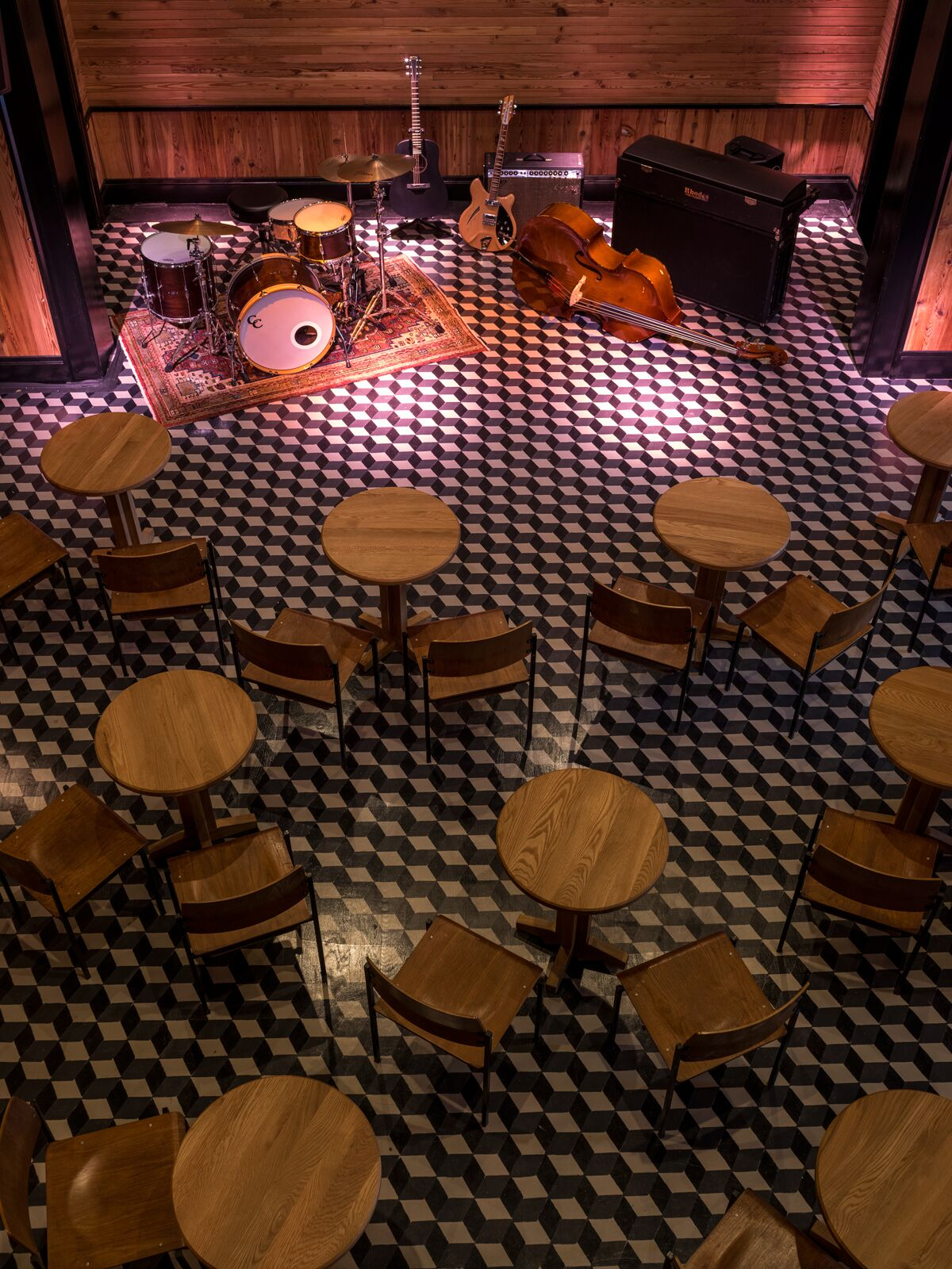 The Three Keys music venue at Ace Hotel. (Photo: Fran Parente)