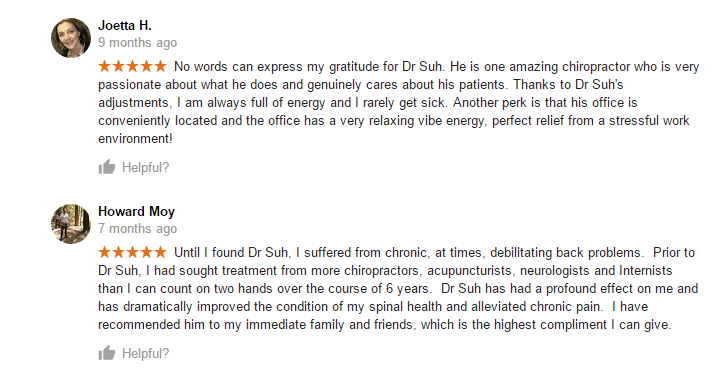 dr ryan suh, passionate, genuinely cares
