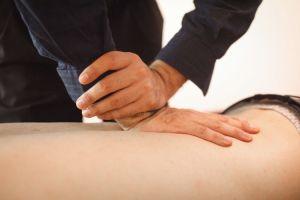 Gonstead knee chest adjustment