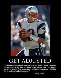 Tom Brady, Chiropractic