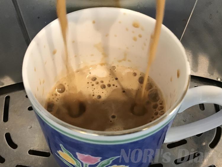 デロンギでコーヒー