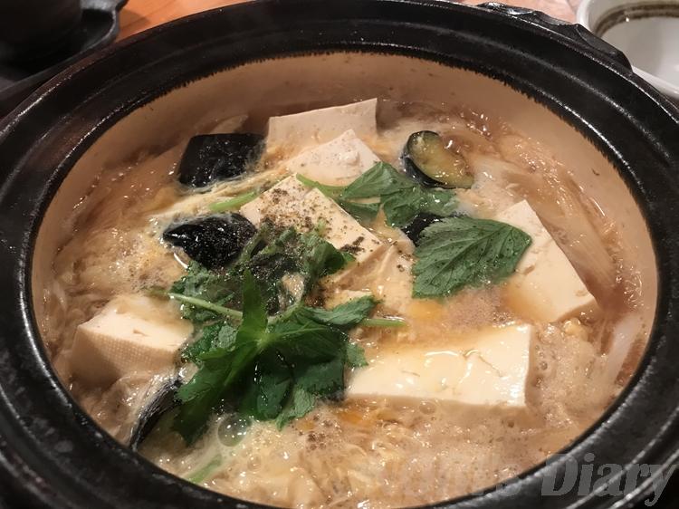 茄子の柳川鍋