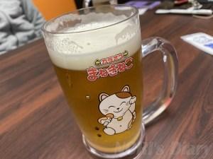 招き猫生ビール