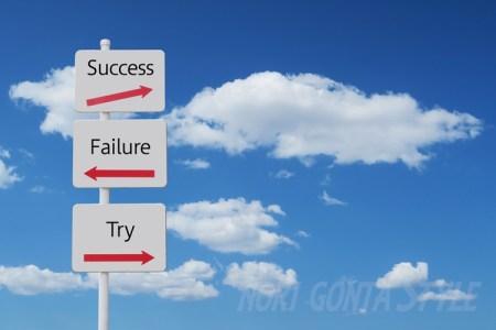 成功か失敗かみちしるべ