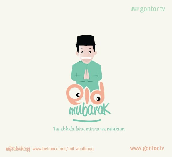 eid mubarak gontor tv greeting card ok