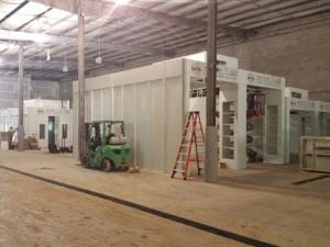 Prep deck installation underway