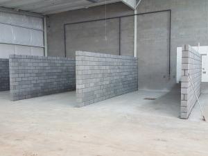 Wash bay walls complete