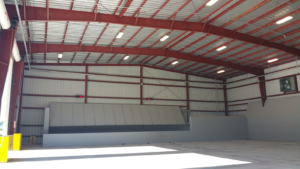 Waste Industries Transfer Station Interior View