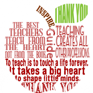 Teacher Appreciation Day 2017: Teacher Appreciation Day – Gonzales Church of Christ,