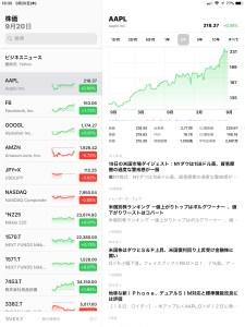 株価 iPad