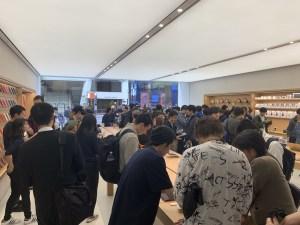 Apple渋谷 1階