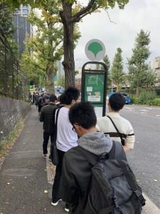 Apple渋谷 行列