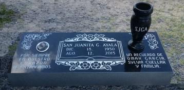 Satin black, Granite vase, porcelain photo