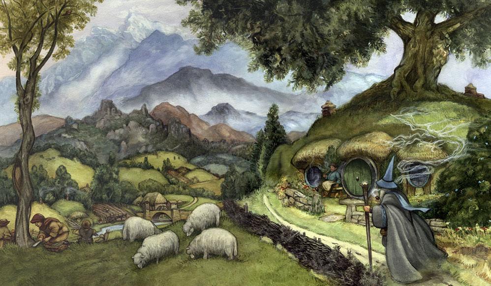 El Hobbit, hay que salvar a los Hobbit. La forja y la Espada
