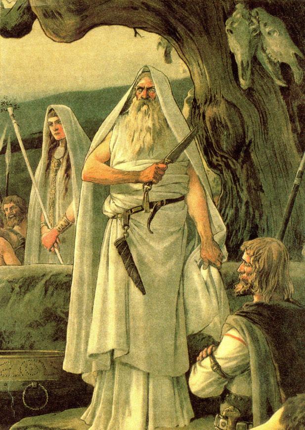 1-El Druida y la Autoridad Espiritual: