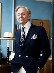 "New Journalism ""founder"" Tom Wolfe."