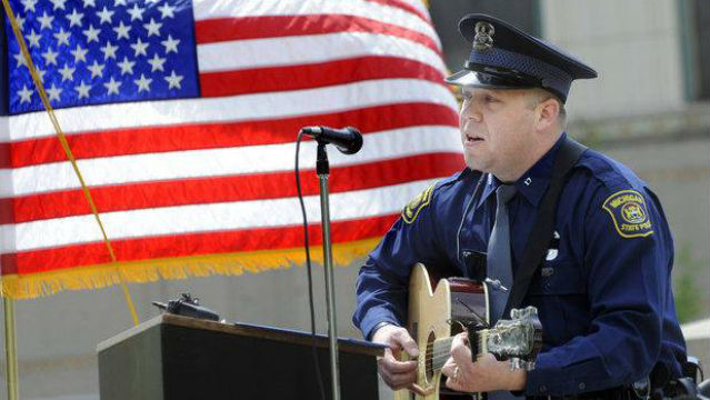 Michigan State Police Trooper Chad Wolf