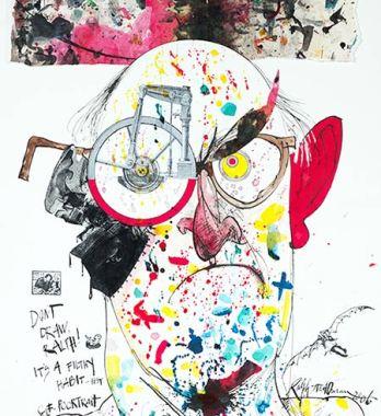 Ralph-Steadman-Self-portrait-2006