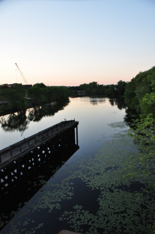 Mystic River in the Summer